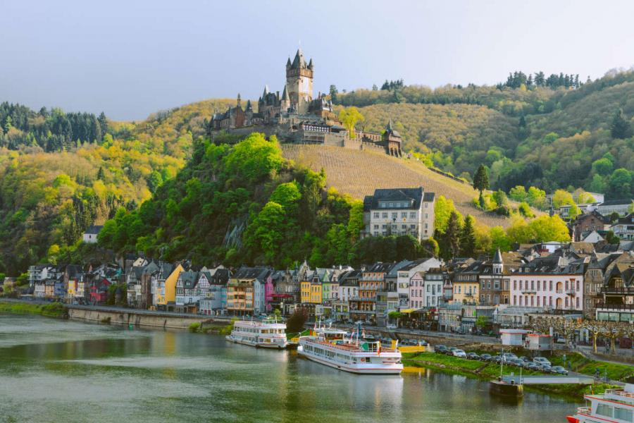 moselle cityscape of cochem