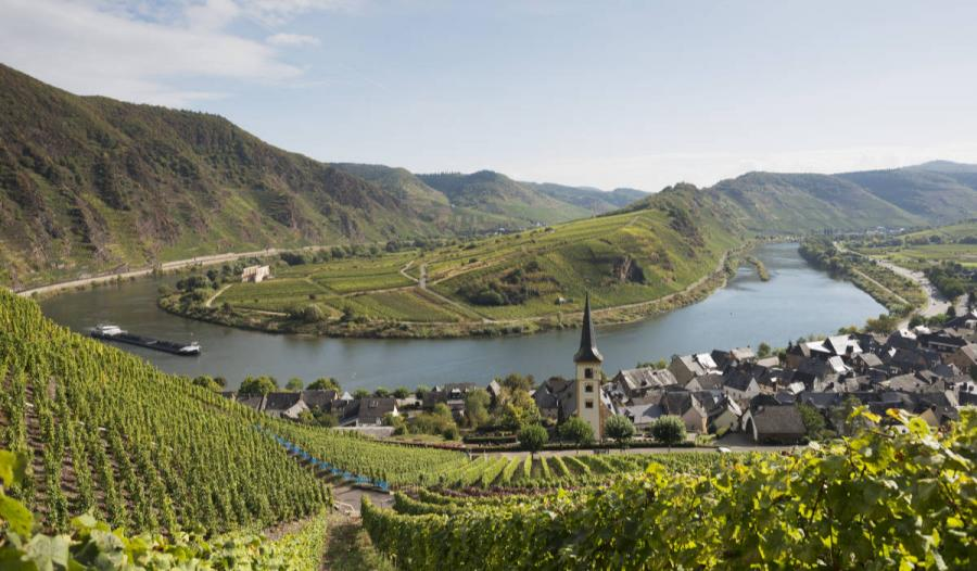 Moselle moselle river loop