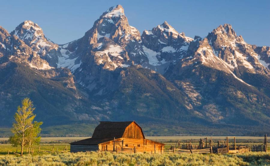 US national parks grand teton national park