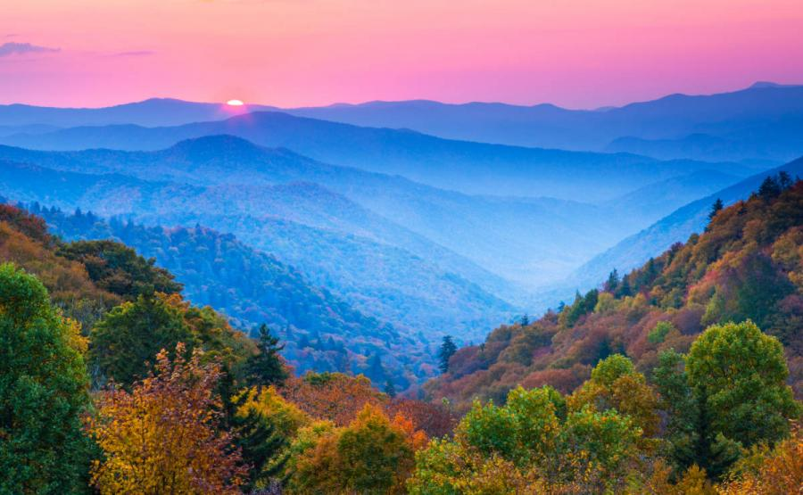 US national parks great smoky mountains