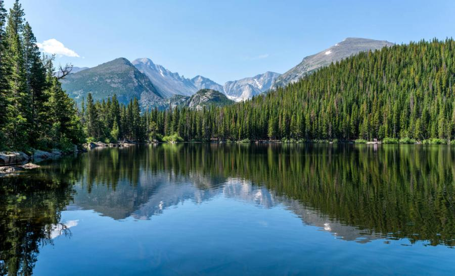 US national parks rocky mountain national park colorado