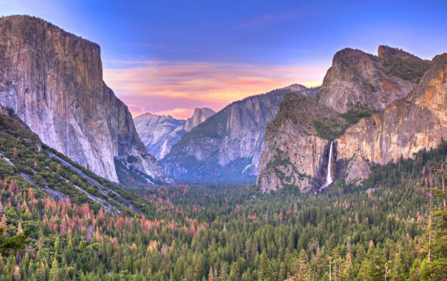US national parks yosemite valley