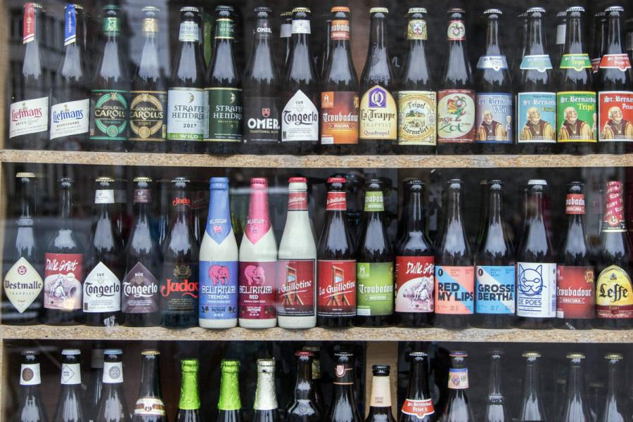 beer festival belgian beer selection