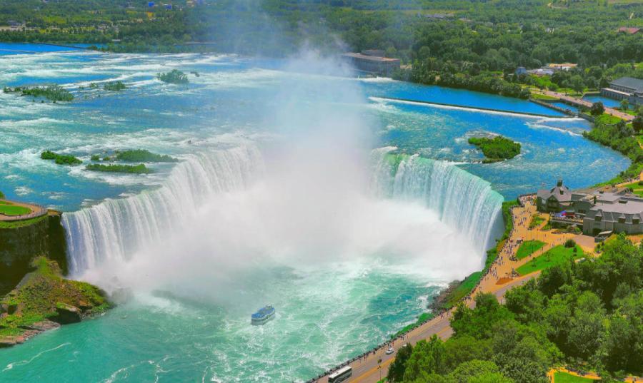 famous waterfalls niagara falls