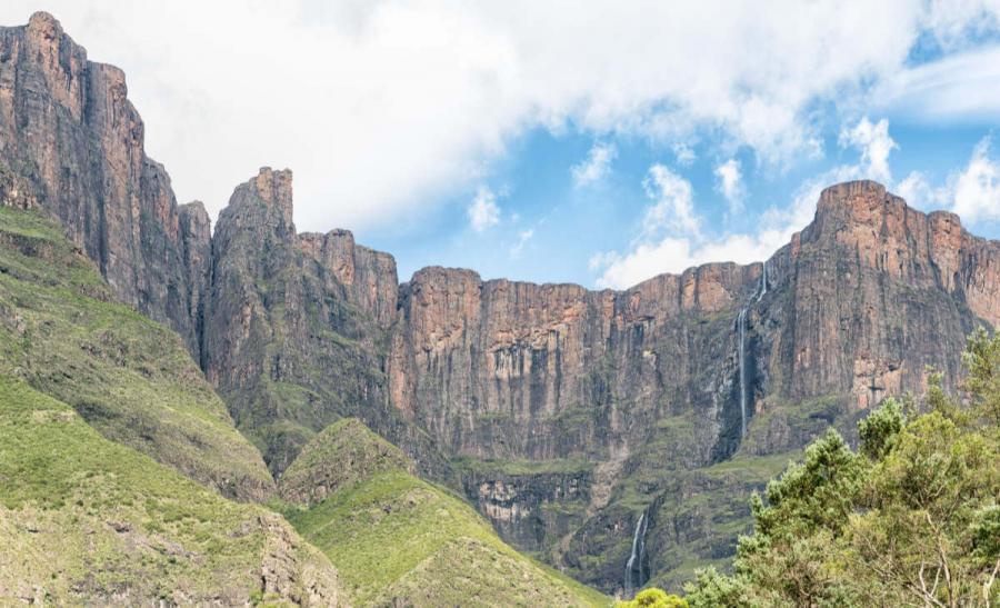 famous waterfalls tugela falls