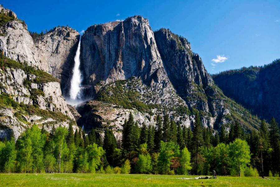 famous waterfalls yosemite falls
