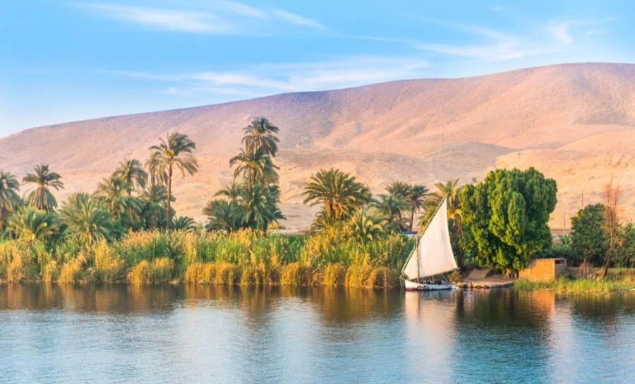 nile cruise river nile egypt