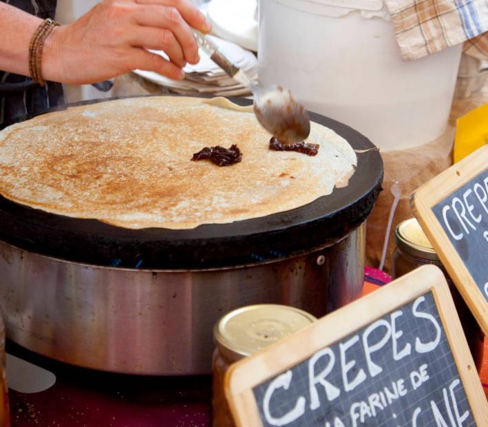 street food crepes