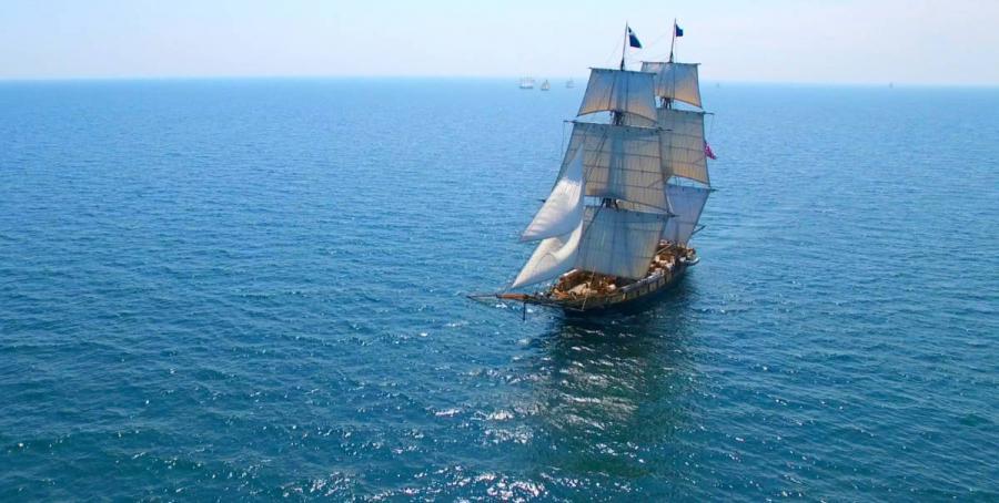 tall ships sailing