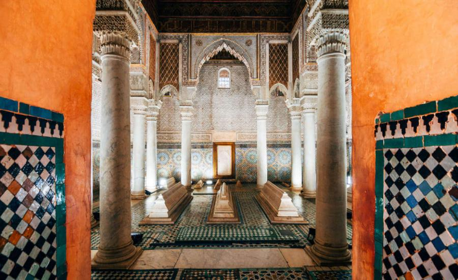 marrakesh saadian tombs