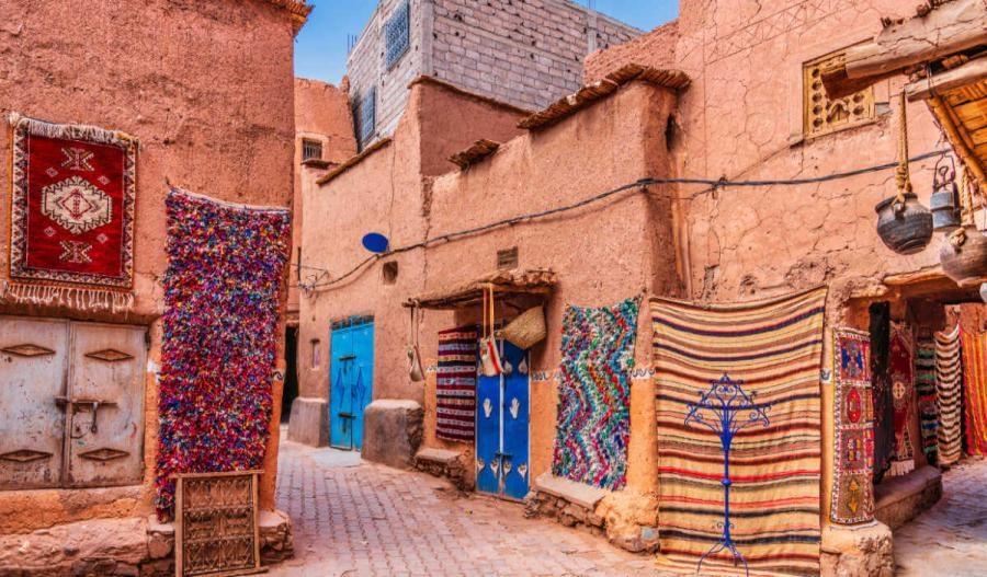 Marrakesh Streets in Medina
