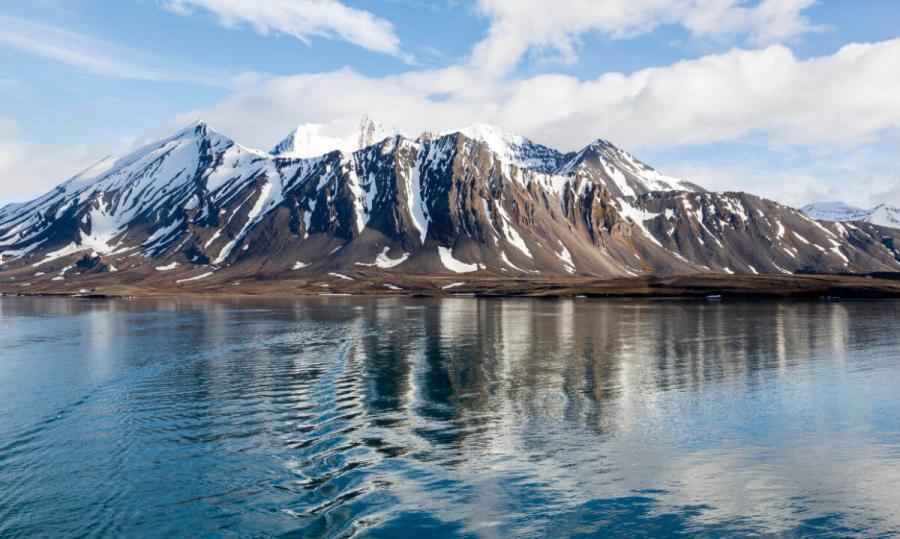 arctic cruise arctic landscape spitsbergen