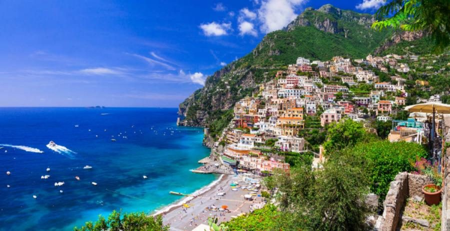 best places to visit in italy positano amalfi cost