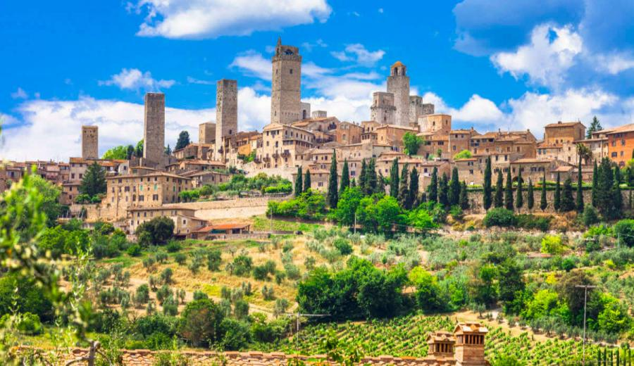 best places to visit in italy san gimignano tuscany