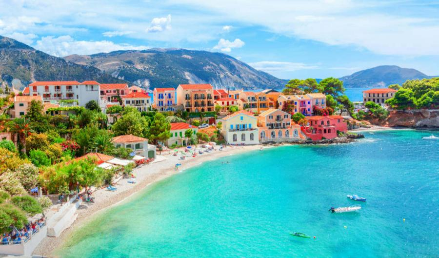cruising the ionian islands assos kefalonia