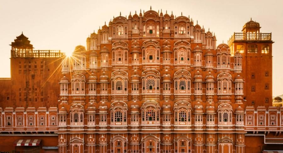 Golden Triangle Tours India | Hawa Mahal Jaipur Palace of the Winds
