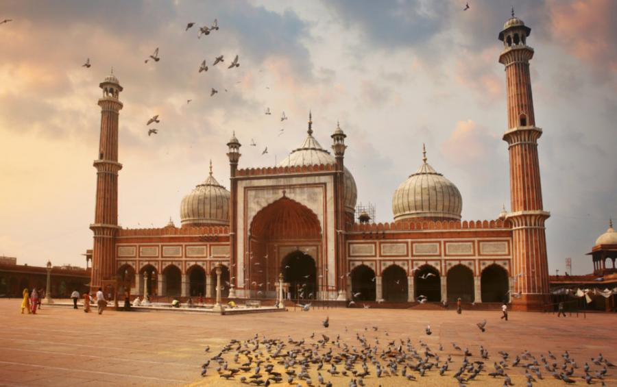 Golden Triangle Tours India | Jama Masjid Mosque in Delhi