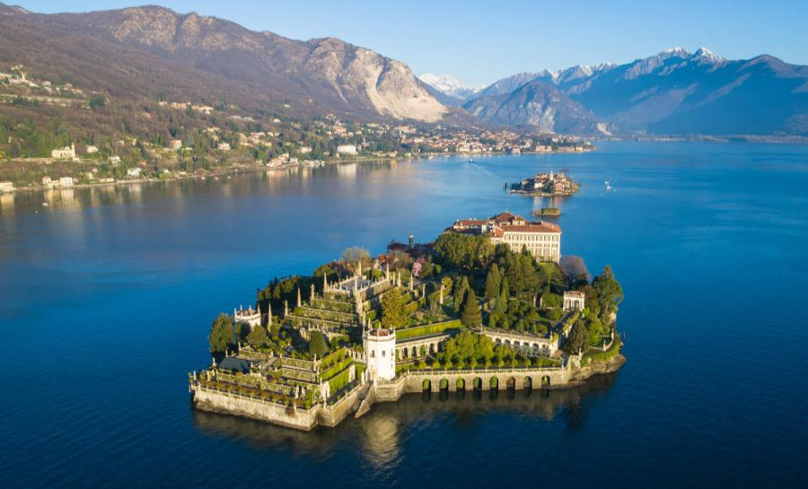 italian lakes Isola Bella on Lake Maggiore