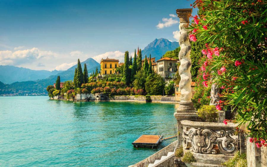 italian lakes villa Monastero Lake Como