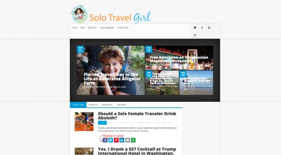 solo travel blog Solo Travel Girl