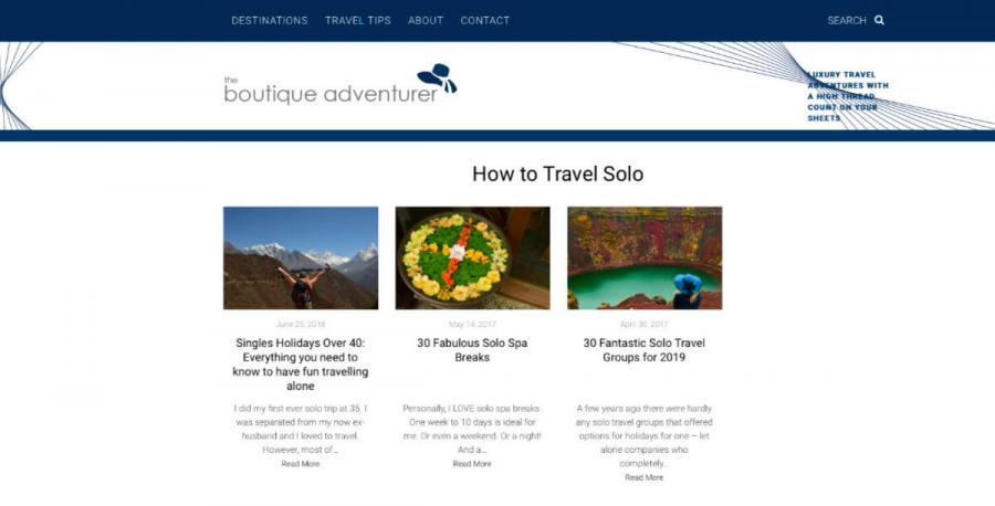 solo travel blog The Boutique Adventurer