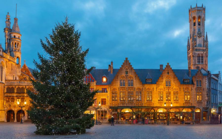 Best European cities to visit in winter Bruges