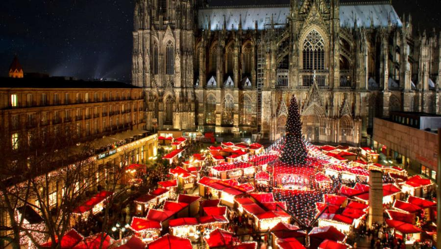 Best European cities to visit in winter Cologne
