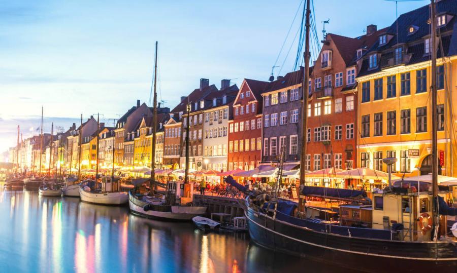 Best European cities to visit in winter Nyhavn Copenhagen