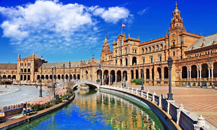 Best European cities to visit in winter Sevilla Spain