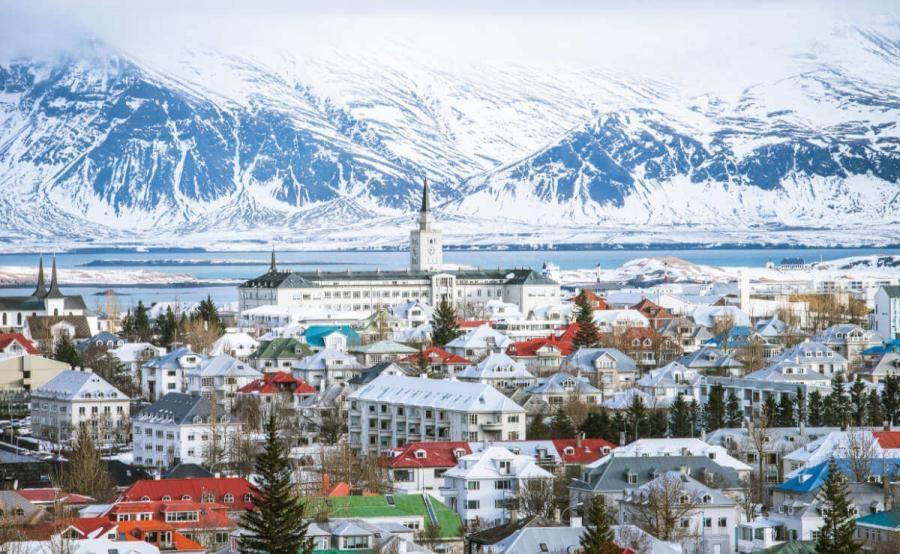 Iceland holidays Reykjavik skyline