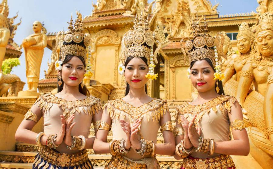 luxury mekong cruise apsara greeting
