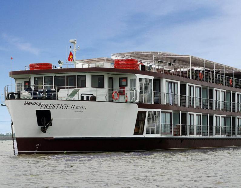 luxury mekong cruise mekong prestige ii