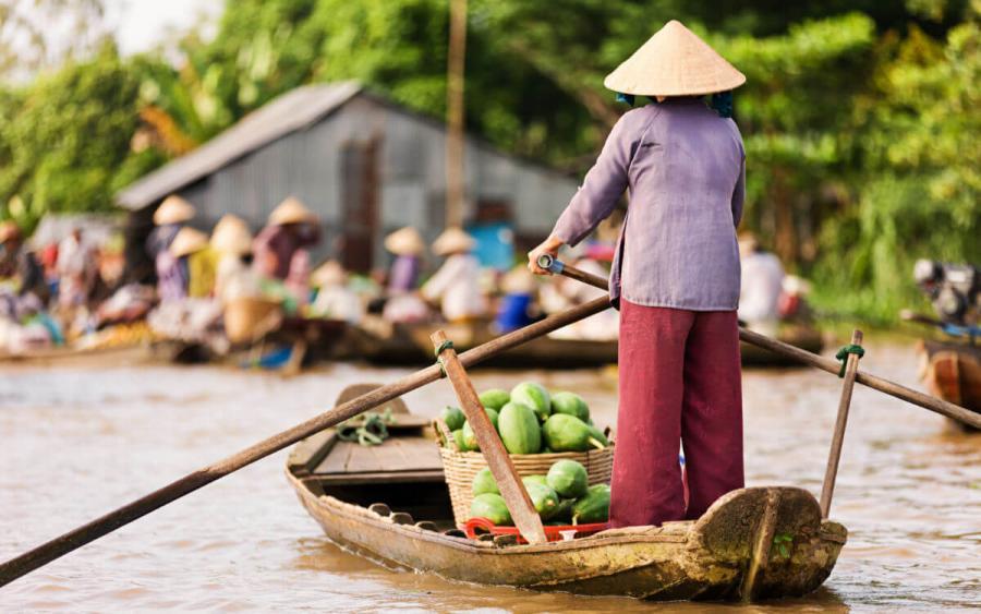 luxury mekong cruise mekong river life