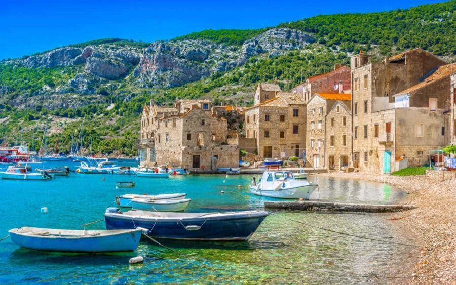 sailing holidays croatia komiza on vis island