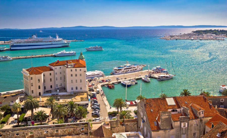 sailing holidays croatia split