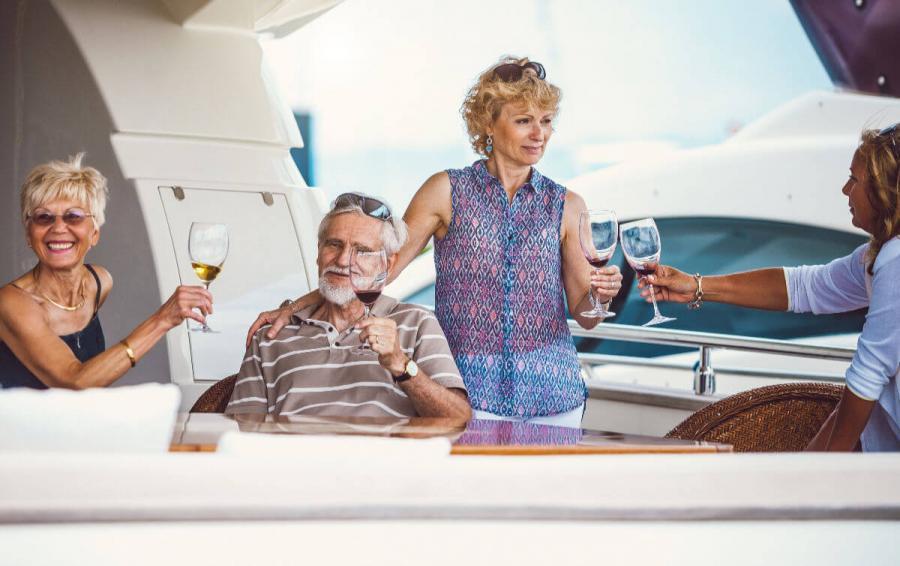 sailing holidays croatia making friends