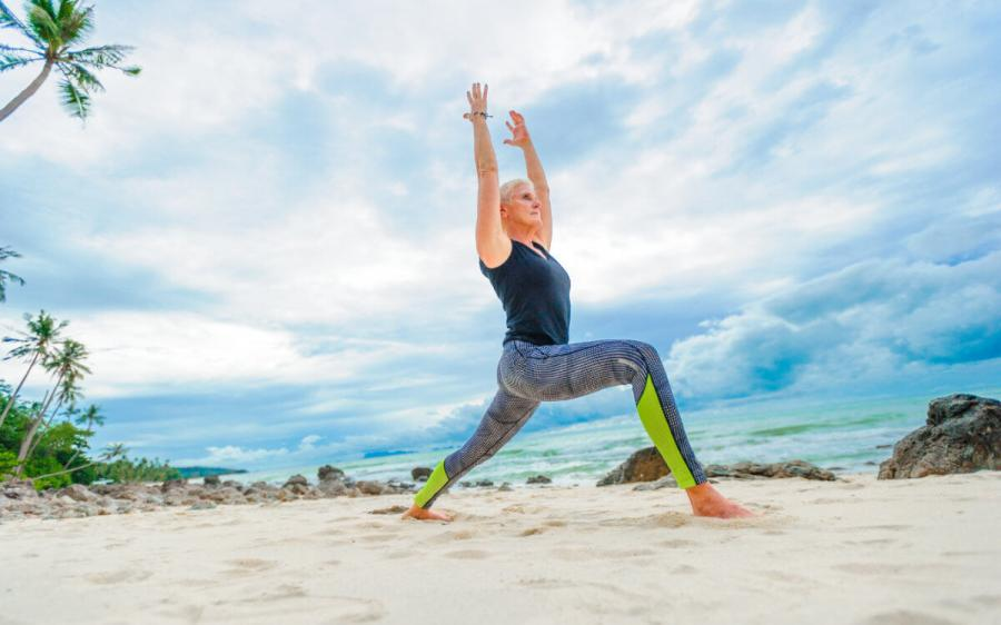 travel ideas wellness holidays yoga on the beach