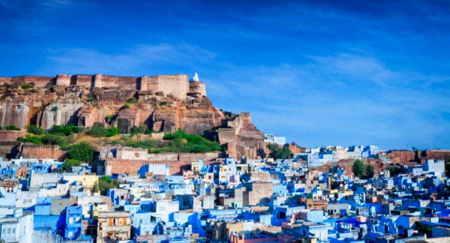 things to do in india jodhpur the blue city and mehrangarh fort