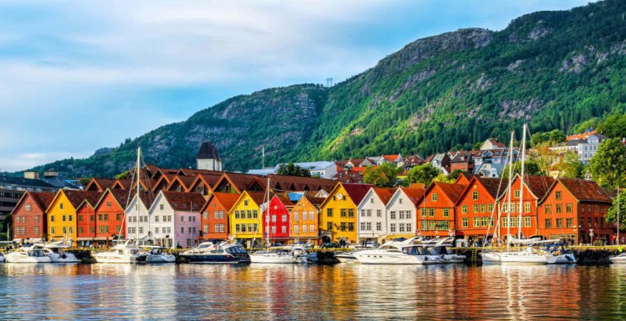 norwegian fjords cruise bryggen bergen