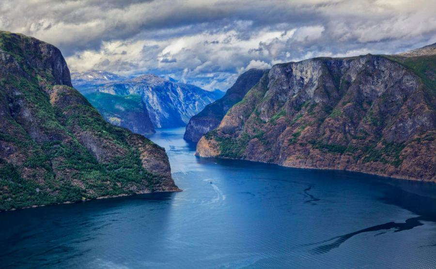 norwegian fjords cruise sognerfjord