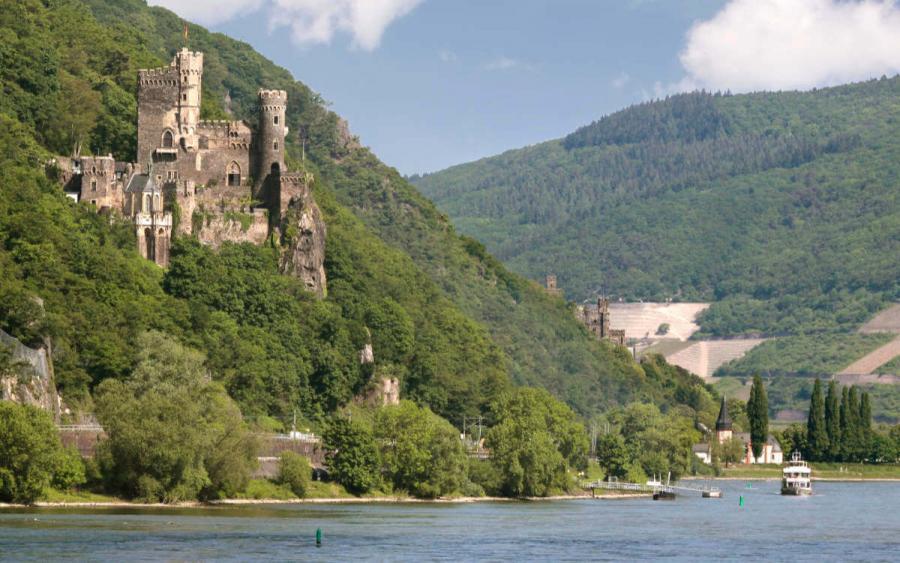 rhine river cruise castle reichenstein
