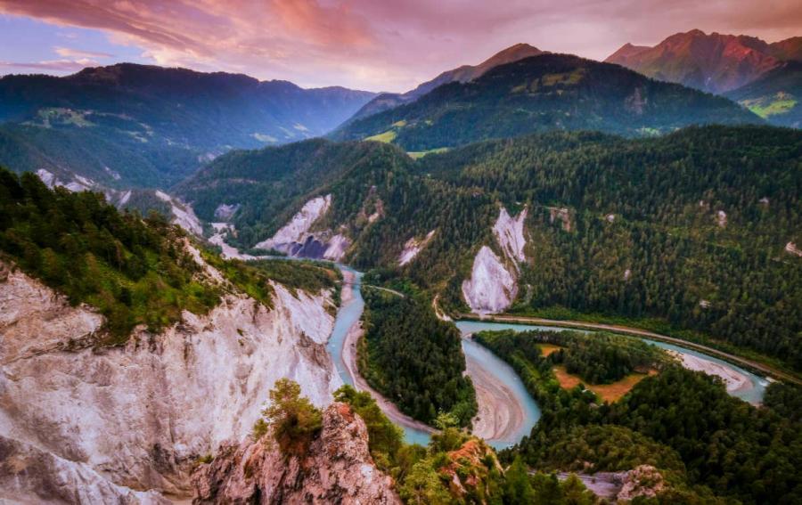 rhine river cruise rhine gorge