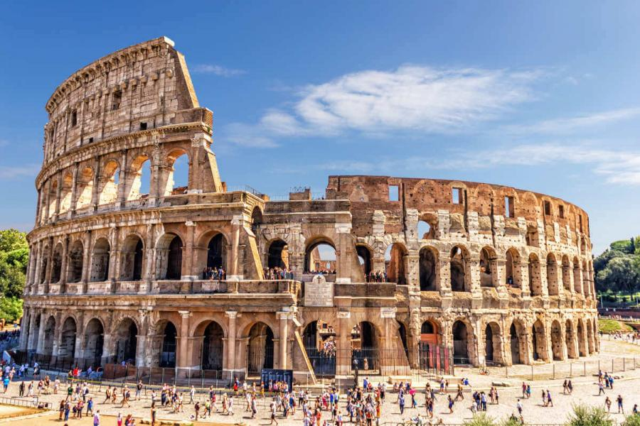 7 wonders of the world colosseum rome