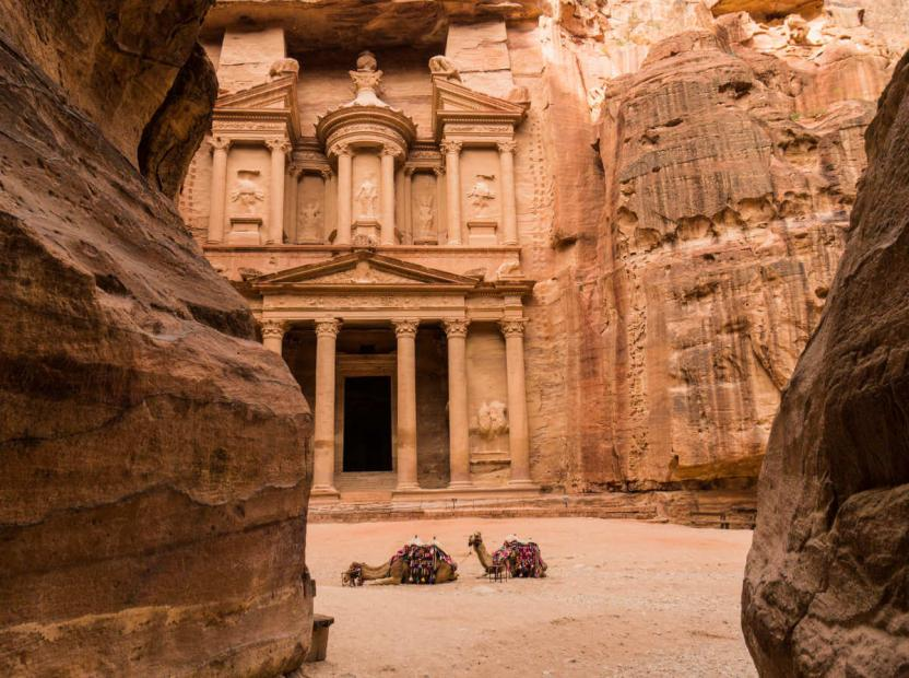 7 wonders of the world petra jordan