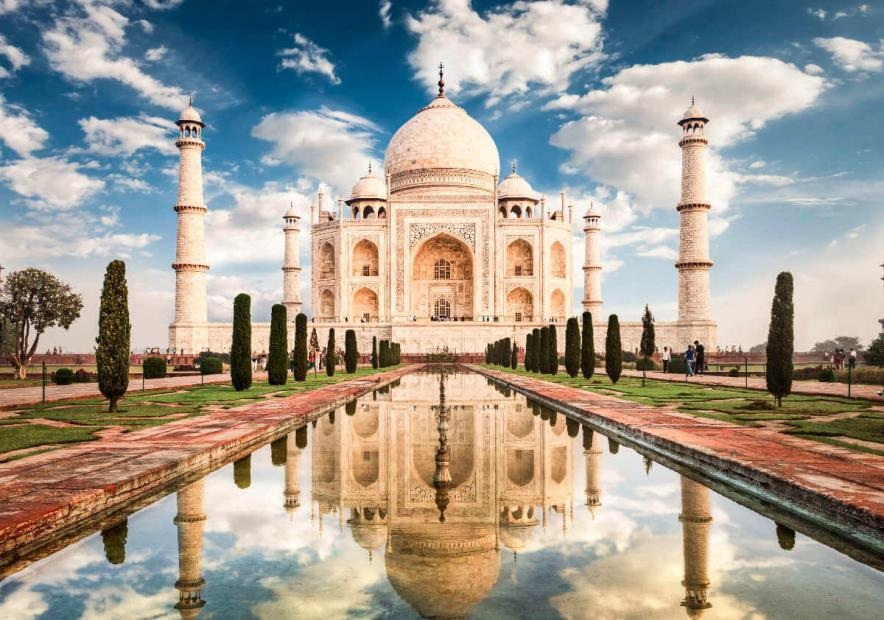 7 wonders of the world taj mahal