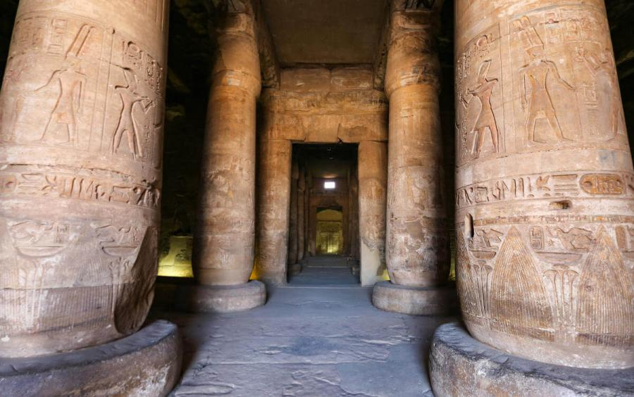 nile river cruise abydos temple