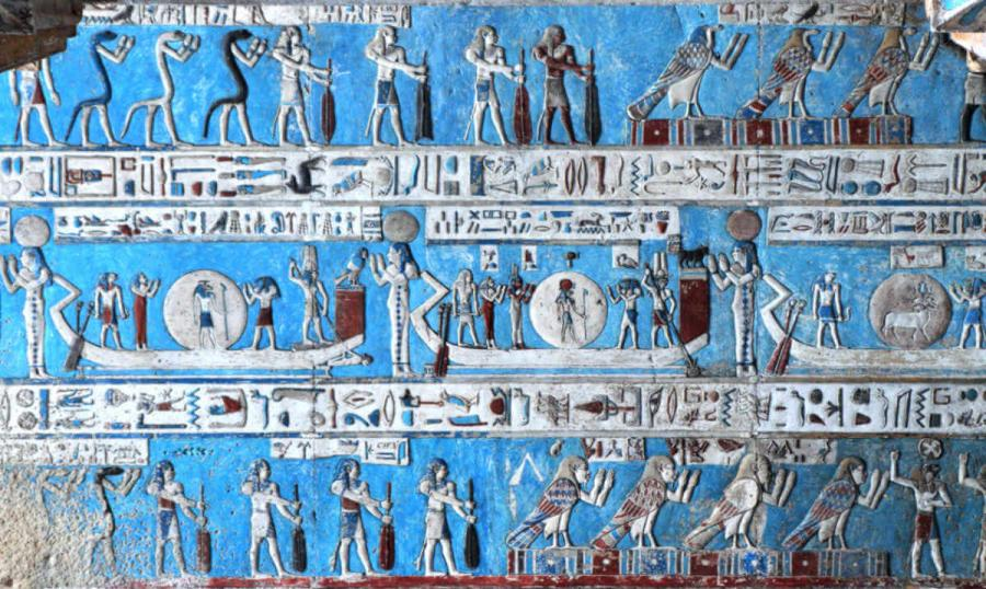 nile river cruise astronomical ceiling temple of hathor dendera