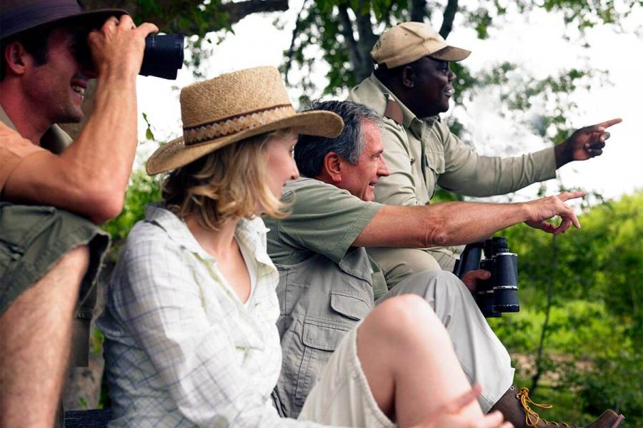 over 55 safari bucket list