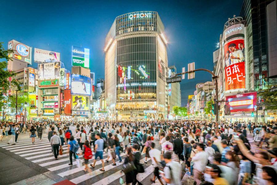 visit japan Shibuya crossing Tokyo