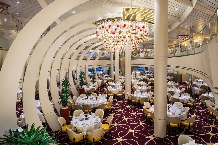 alaska cruise ship dining room